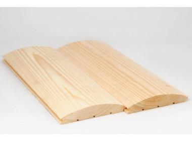 Блок-хаус из лиственницы 28*140*5.0 - 6.0 ВС