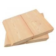 Скошенный планкен из лиственницы 20*190*2.0 - 4.0
