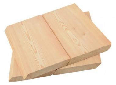 Скошенный планкен из лиственницы 20*140*5.0 - 6.0 Отборный