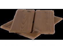 Скошенный планкен из термососны 20*90*0.9 - 3.0