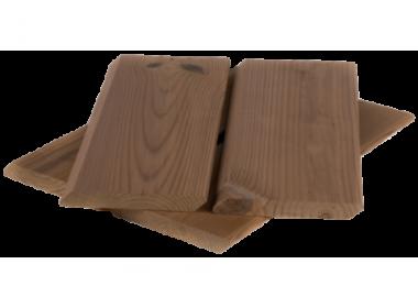 Скошенный планкен из термососны 40*140*0.9 - 3.0 А