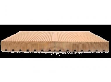 Террасная доска из лиственницы 35*90*2.0 - 4.0 Экстра