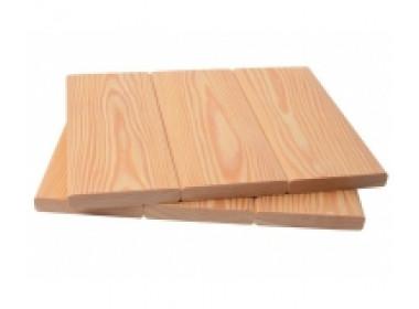 Планкен из лиственницы 20*90*5.0 - 6.0 ВС