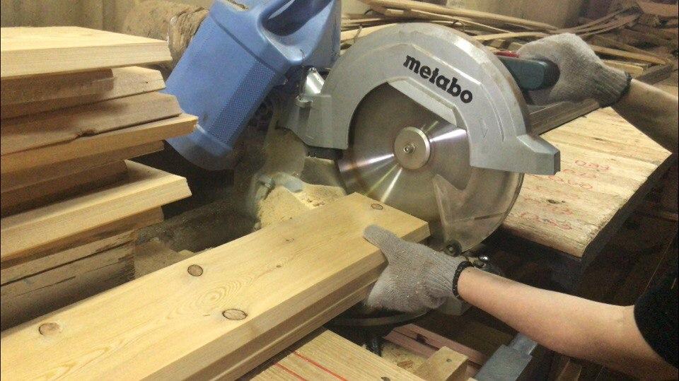 Торцовка древесины от компании ЛесРезерв