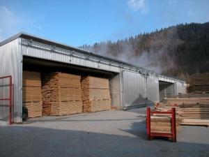 Сушка древесины от компании Лес Резерв