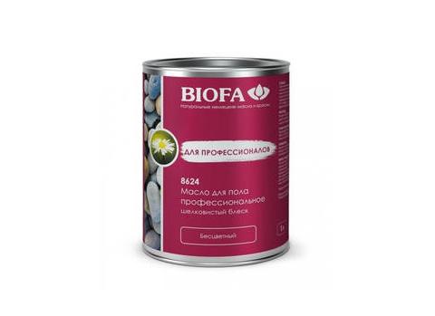 Biofa (Биофа) 8624 Масло для пола профессиональное, полуглянцевое