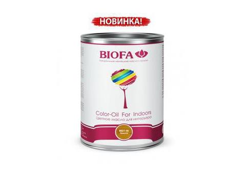 Biofa 8521-02 Color-Oil For Indoors. Золото. Цветное масло для интерьера