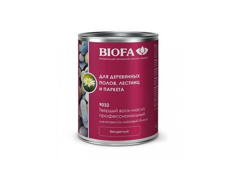 Biofa 9032 Твердый воск-масло профессиональный шелковисто-матовый