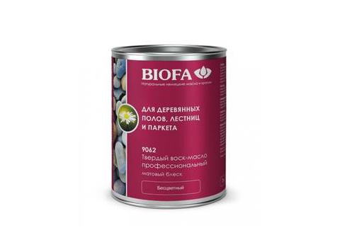 Biofa 9062 Твердый воск-масло профессиональный матовый